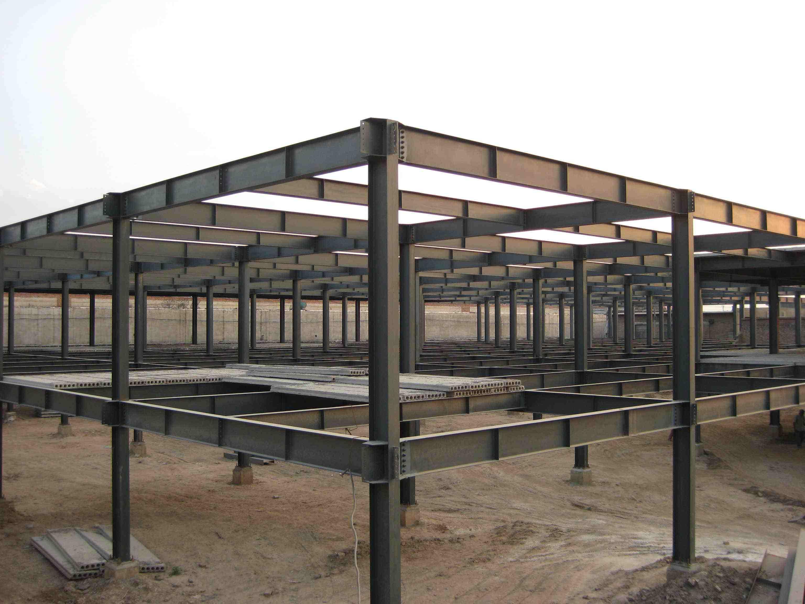 行业快讯    怎样防止钢结构厂房基础下沉需从基础承台做起,当钢结构