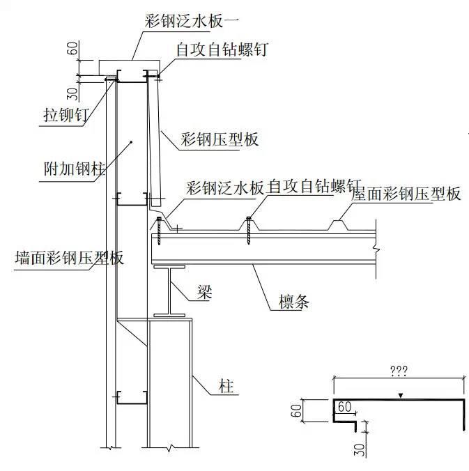 建筑结构图集_钢结构建筑构造图集【墙板构造】